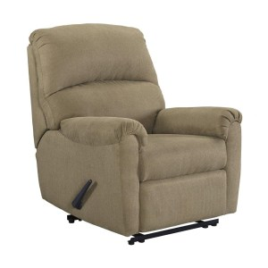 ASHLEY OTWELL SOFA RECLINER 1 DUDUKAN - COKELAT MUDA