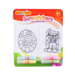 SUNCATCHER PAINT IN BLISTER BEE AND DOG