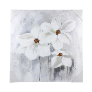 LUKISAN MINYAK FLOWER 14223B 60X60X2.8 CM