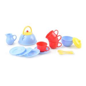 PLAYGO TEA SET KITCHEN UTENSILS
