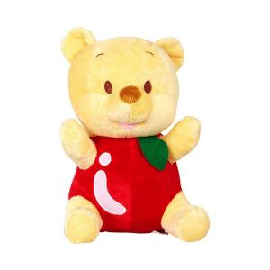 Disney Boneka Winnie The Pooh Outfit Apple - Kuning