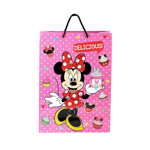 Disney Paper bag Minnie Mouse Sweet Treats - Pink