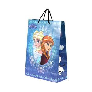 Disney paper Bag Frozen Winter Anna & Elsa Best Wishes Size L