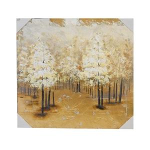 LUKISAN MINYAK TREE 2198B 100X100X3.8 CM