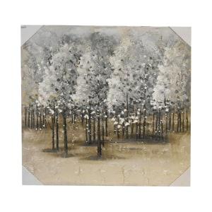 LUKISAN MINYAK TREE 2198A 100X100X3.8 CM