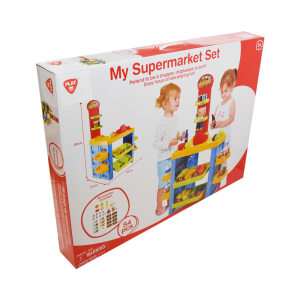 PLAYGO SET MY SUPERMARKET 54 PCS