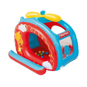 FISHER PRICE HELICOPTER BALL PIT