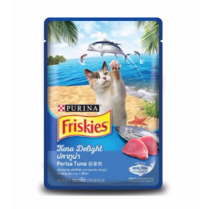 FRISKIES Adult Wet Tuna Delight (Pouch) 80 g