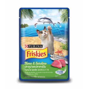 FRISKIES Adult Wet Tuna & Sardine (Pouch) 80 g