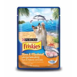 FRISKIES Adult Wet Tuna & Mackerel (Pouch) 80 g