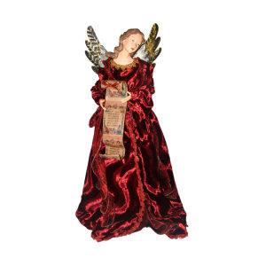 NOELLE HIASAN POHON NATAL ANGEL 62 CM - MERAH