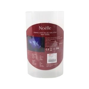 NOELLE LAMPU HIAS LIGHT BLUE DENGAN KABEL PUTIH 100 L
