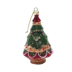 NOELLE ORNAMEN NATAL 3D TREE 12 CM