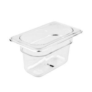 KRIS GASTRONORM PAN PLASTIK 1/9 100MM