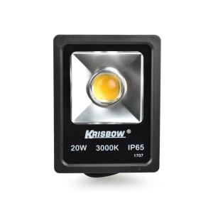KRISBOW LAMPU SOROT LED COB 20 W 3000 K