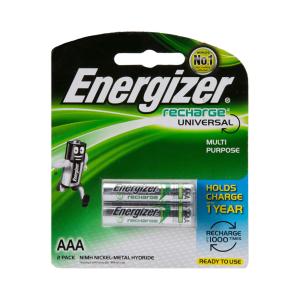ENERGIZER RECHARGE UNIVERSAL AAA 2 PCS