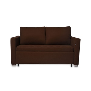SOFA BED SCOTLAND SLEEPER 2 DUDUKAN - COKELAT
