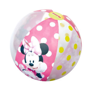 BOLA PANTAI MINNIE MOUSE - PINK