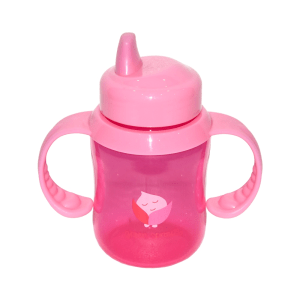 GREEN SPROUTS CANGKIR BAYI 180 ML - PINK