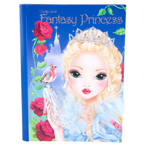 TOP MODEL BUKU MEWARNAI CREATE YOUR FANTASY PRINCESS