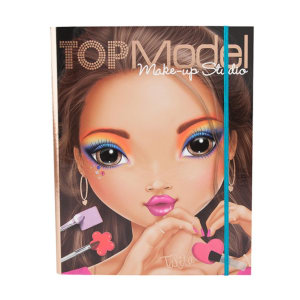 TOP MODEL TM 6674 BUKU MEWARNAI MAKE-UP CREATIVE FOLDER
