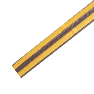 WEATHERSTRIP P PROFILE 9X5.5 MM- COKELAT