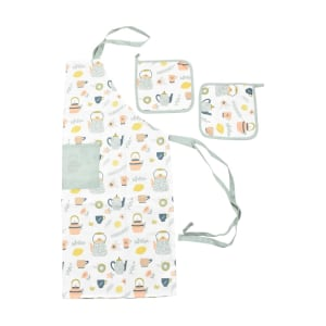 SET CELEMEK DAPUR TEA POT 3 PCS