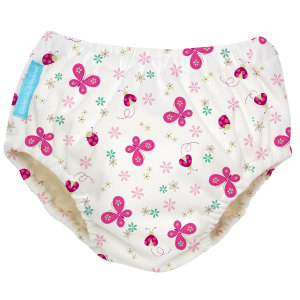 CHARLIE BANANA 2-IN-1 SWIM  DIAPER & TRAINING PANTS BUTTERFLY