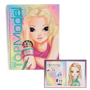 TOP MODEL TM 6921 MAKE UP COLOURING BOOK