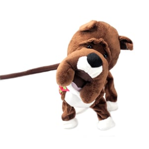 XMAS WALKING DOG 90 CM
