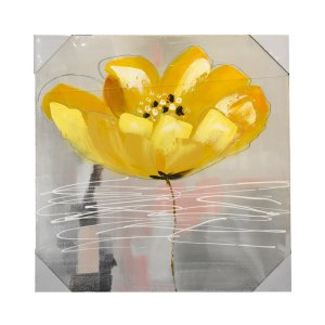 HIASAN DINDING KANVAS PRINT FLOWER 2230C 60 X 60 X 2.8 CM