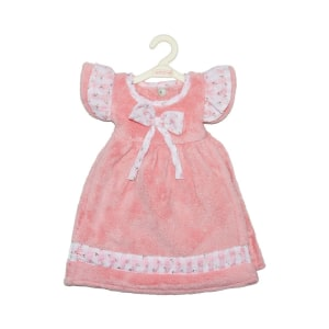 ARTHOME KAIN LAP TANGAN DRESS FLOWER - PINK