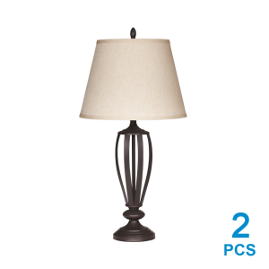 ASHLEY MILDRED LAMPU MEJA 2 PCS