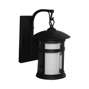 RHONE LAMPU DINDING 27X20X34 CM - HITAM