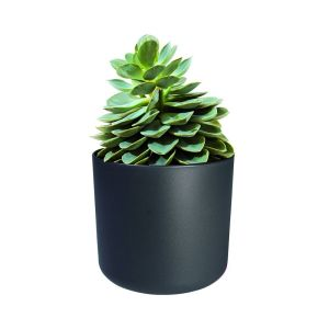 ELHO B.FOR SOFT ROUND POT TANAMAN 14 CM - ABU ABU
