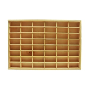 DUTCHWOOD RAK DISPLAY 48 SLOT - KREM