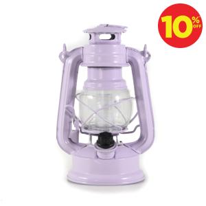 HURRICANE LAMPU LENTERA 12 LED - UNGU