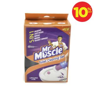 MR MUSCLE GEL PEMBERSIH TOILET - LAVENDER