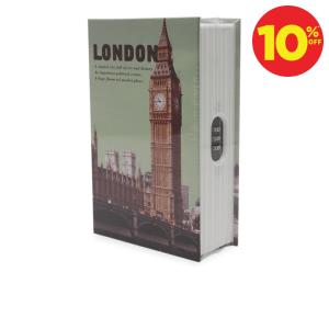 KRISBOW BRANKAS BUKU 18 X 11,5 X 5, 4 CM MOTIF KOTA LONDON