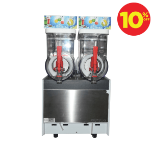 KRISCHEF MACHINE SLUSH DOUBLE 2X15 L