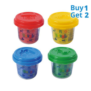 PLAYGO DOUGH SET LILIN 4 PCS