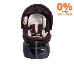 AILEBEBE KURUTTO BABY CAR SEAT - COKELAT