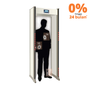 KRISBOW WALKTHROUGH METAL DETECTOR 21 TITIK