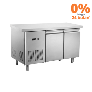 UNDER COUNTER FREEZER STAINLESS STEEL