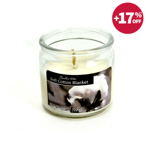 CANDLE LITE SOFT COTTON BLANKET LILIN AROMATERAPI 99 GR