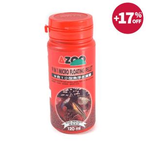 AZOO MAKANAN IKAN HIAS MICRO FLOATING PELLET 120 ML