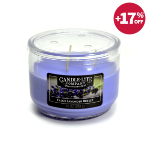 CANDLE LITE FRESH LAVENDER BREEZE LILIN AROMATERAPI 283 GR