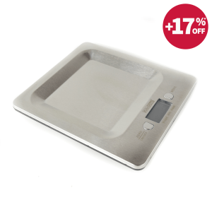 TIMBANGAN DAPUR DIGITAL STAINLESS STEEL 5KG