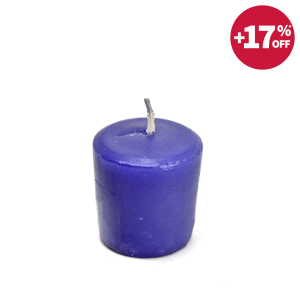 CANDLE LITE LAVENDER BREEZE LILIN VOTIVE 3,8 X 5 CM - UNGU