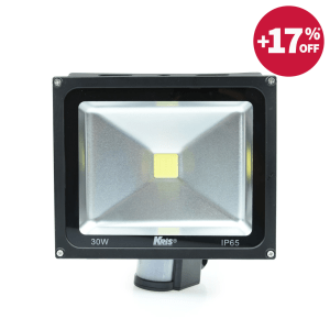 KRIS LAMPU SOROT LED DENGAN SENSOR 30W